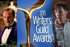 Grand Budapest Hotel and Imitation Game - WGA Awards 2015