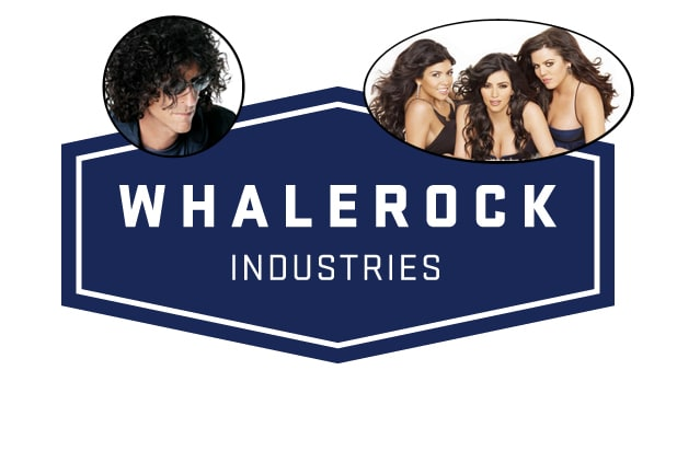 Howard Stern and the Kardashians partner with Whalerock (Sirius XM/E!/Whalerock)