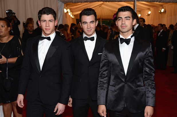 2012 - Nick Jonas, Kevin Jonas and Joe Jonas 'Schiaparelli And Prada: Impossible Conversations' Costume Institute Gala (Dimitrios Kambouris/Getty Images)