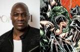 Adewale Akinnuoye-Agbaje (Ian Gavan/Getty Images); Killer Croc (DC Comics)