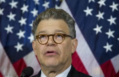 Sen. Al Franken/Getty Images