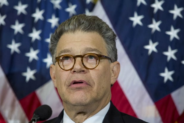 Al Franken accused of groping, kissing radio host