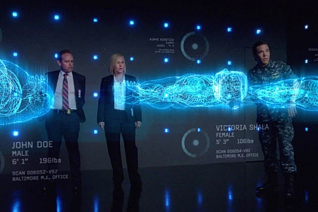 CSI: Cyber's Patricia Arquette and Peter MacNicol (Monty Brinton/CBS)