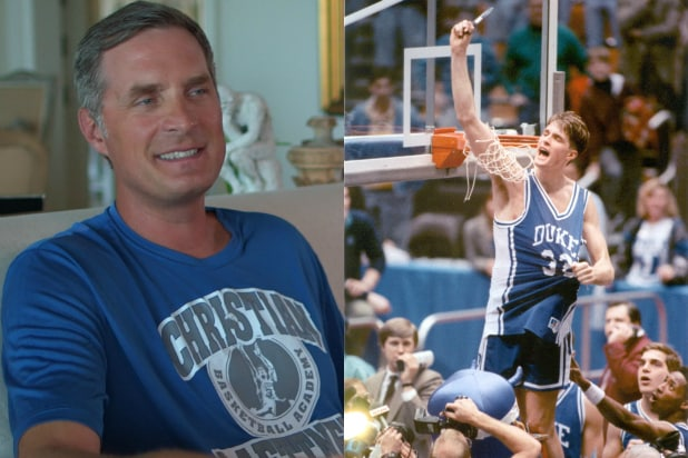 Christian laettner wife duke basketball legend christian laettner on