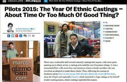 Deadline Artice Screengrab