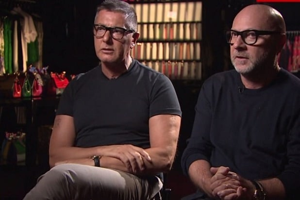 4892d5df2b41 Dolce & Gabbana Backpedal on Controversial Remarks: 'Maybe We Chose the  Wrong Words'