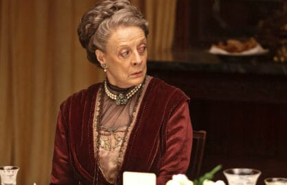 downton abbey, maggie smith, dowager countess,