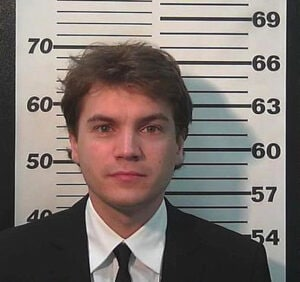 Emile Hirsch mugshot, 3rd Judicial District Court March 16, 2015 in Park City, Utah (Summit County, Utah, Sheriff's Office)