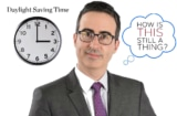 John Oliver Daylight Savings Time