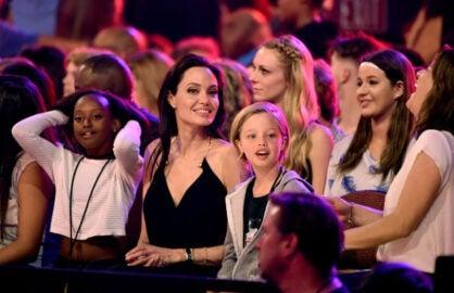 Jolie Steps Out Kids Choice