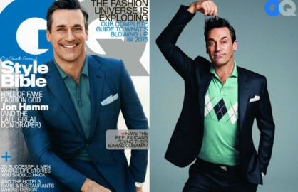 Jon Hamm April GQ Exclusive