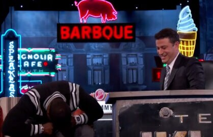 Kevin Hart Jimmy Kimmel Live
