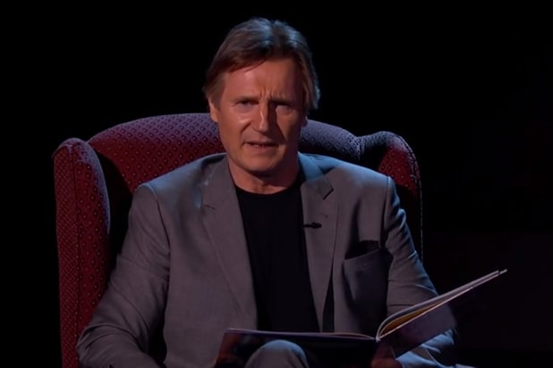 Liam Neeson Jimmy Kimmel Live