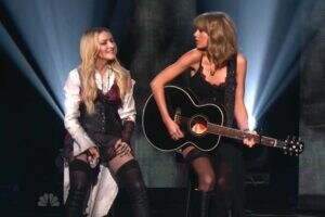 Madonna Taylor Swift Ghost Town iHeartRadio Music Awards