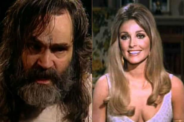 charles Manson and Sharon Tate hollywood murders