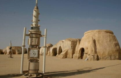 Star Wars set in Tunisia/Getty Images