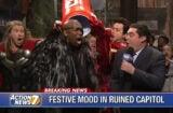 Avengers defeat Ultron, Chris Hemsworth, Saturday Night Live