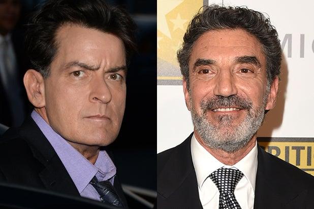 Charlie Sheen, Chuck Lorre