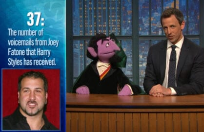 The Count Seth Meyers