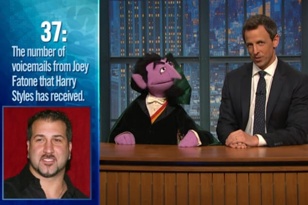 Anti Vaxxers Convinced Sesame Street >> Sesame Street S The Count Joins Seth Meyers For This Week In