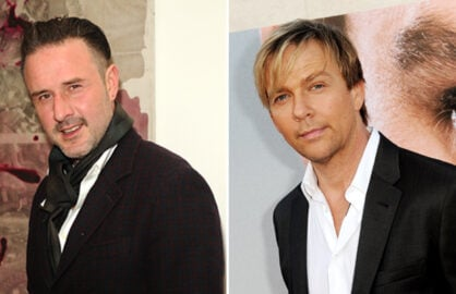 David Arquette, Sean Patrick Flanery (Joshua Blanchard/Kevin Winter, Getty Images)