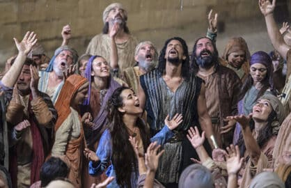 The Dovekeepers, Cote de Pablo (Mark Cassar/CBS)