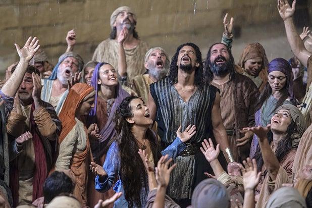 The Dovekeepers, Cote de Pablo (Mark Cassar/CBS)