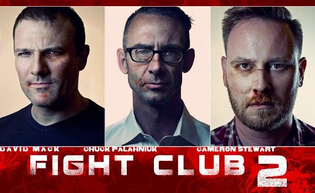 David Mack, Chuck Palahniuk, Cameron Stewart (Dark Horse Comics)