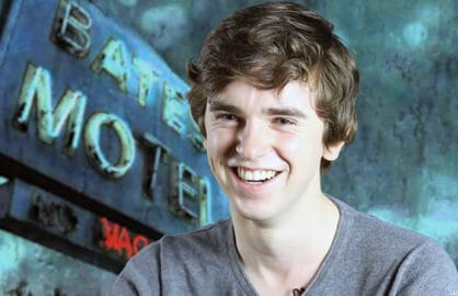 Freddie Highmore, Bates Motel, Drinking With the Stars