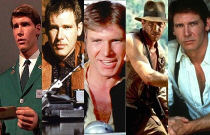 Harrison Ford's great movie roles