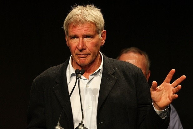 Harrison Ford Directs Traffic During New York Tunnel Backup