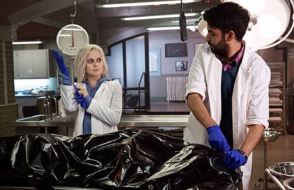 iZombie's Rose McIver and Rahul Kohli (CW)