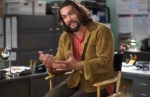 Jason Momoa, The Red Road, behind the scenes