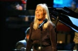 Joni Mitchell performs during the Thelonious Monk Jazz Tribute Concert For Herbie Hancock 10-28-07 (Frederick M. Brown/Getty Images)