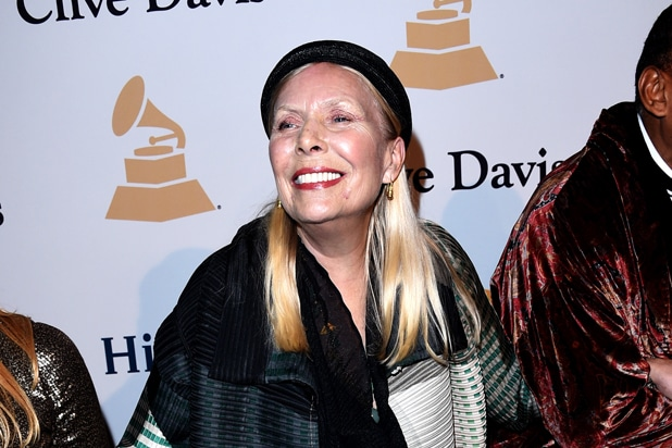 Singer-songwriter Joni Mitchell attends the Pre-GRAMMY Gala (Jason Merritt/Getty Images)