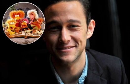 Joseph Gordon-Levitt and Fraggles team up (Getty Images/Inset: henson.com)