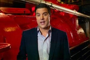 """Josh Elliott on Dateline's """"Escape: The Wreck of the Costa Concordia"""""""