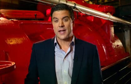 "Josh Elliott on Dateline's ""Escape: The Wreck of the Costa Concordia"""