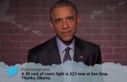 obama mean tweets
