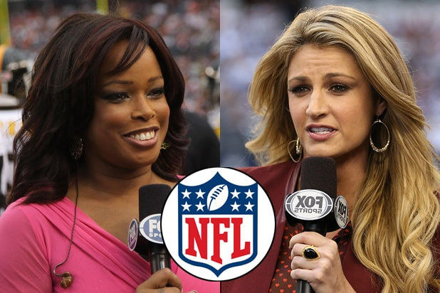 Pam Oliver and Erin Andrews