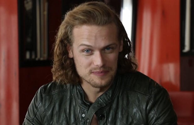 Sam Heughan 'Drinking With the Stars'