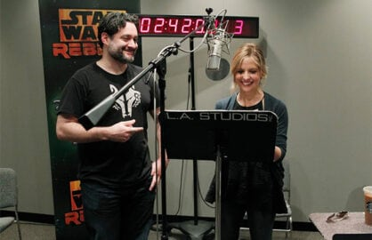 Sarah Michelle Gellar, Star Wars Rebels, Disney, Lucasfilm