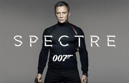 Daniel Craig 'Spectre' Poster