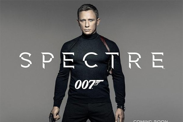 Daniel Craig 'Spectre' Poster Sony Box Office