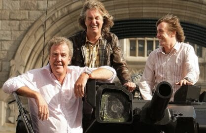 Top Gear Tank Crosses Tower Bridge To Launch The New Programme