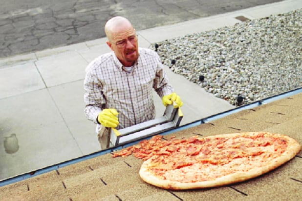 walter white pizza breaking bad vince gilligan