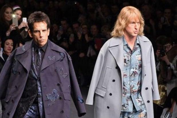 'Zoolander 2' Stars Ben Stiller, Owen Wilson Walk Paris ...