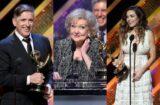 "Craig Ferguson, Betty White, Amelia Heinle at ""42nd Annual Daytime Emmy Awards"""