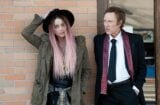 """Amber Heard and Christopher Walken in """"When I Live My Life Over Again"""""""