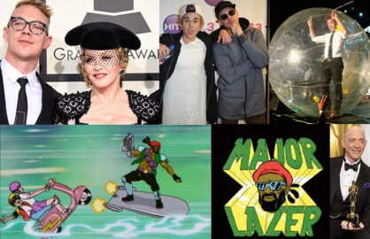 (Getty Images and Animation Stills courtesy of FXX/Mad Decent.)